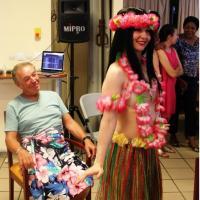 Danse tahitienne avec participation du public - Paris Tour du Monde
