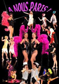 Affiche A Nous Paris - Revue Cabaret