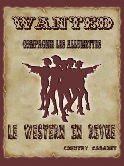 Affiche du spectacle Western en Revue