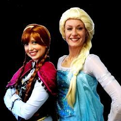 Anna et Elsa - la Reine des Neiges