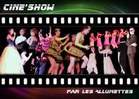 Cine show flyer recto