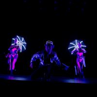 Circus - lumières noires et LED