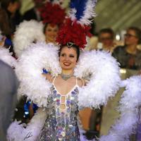 Plumes et paillettes au Salon du Cheval 2014