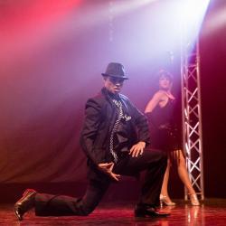 le danseur de Tango dans les Années Folles