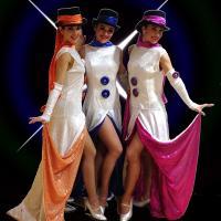 Trio bonnes femmes de neige