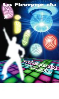 Affiche La Flamme du Disco