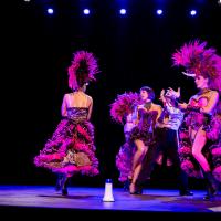Circus - plumes licornes et lumière noire