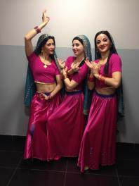 Tableau Bollywood pour remise de récompenses