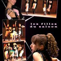 Les filles du Saloon - Revue Western