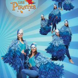 Oiseaux bleus - spectacle Pirates