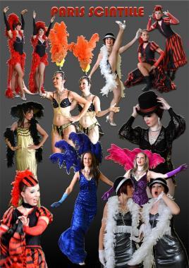 Paris scintille - 2 danseuses