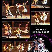 West cancan - le Franc Cancan version farwest